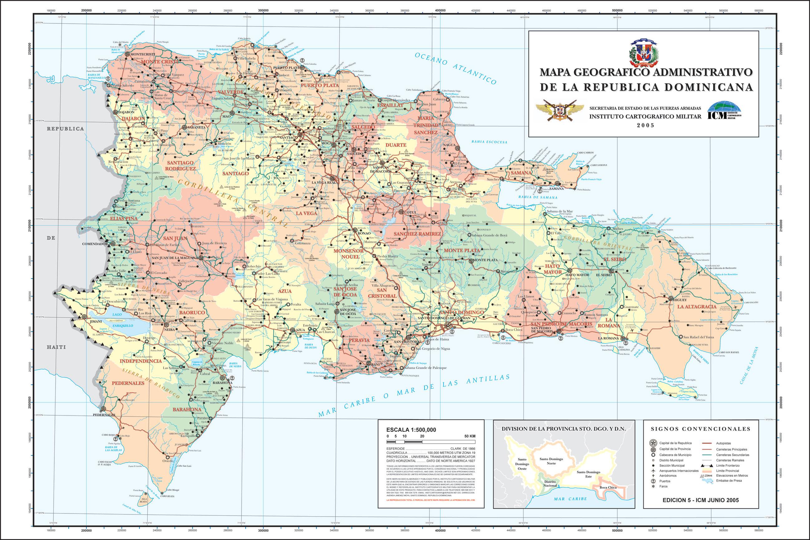 Instituto Cartográfico Militar presenta nuevos mapas de la geografía nacional
