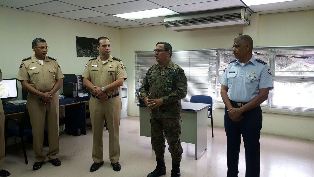 Cambio de Mando al General de Brigada JEAN AMILCAR ROMERO JORGE, ERD, nuevo Director del Instituto Cartográfico Militar