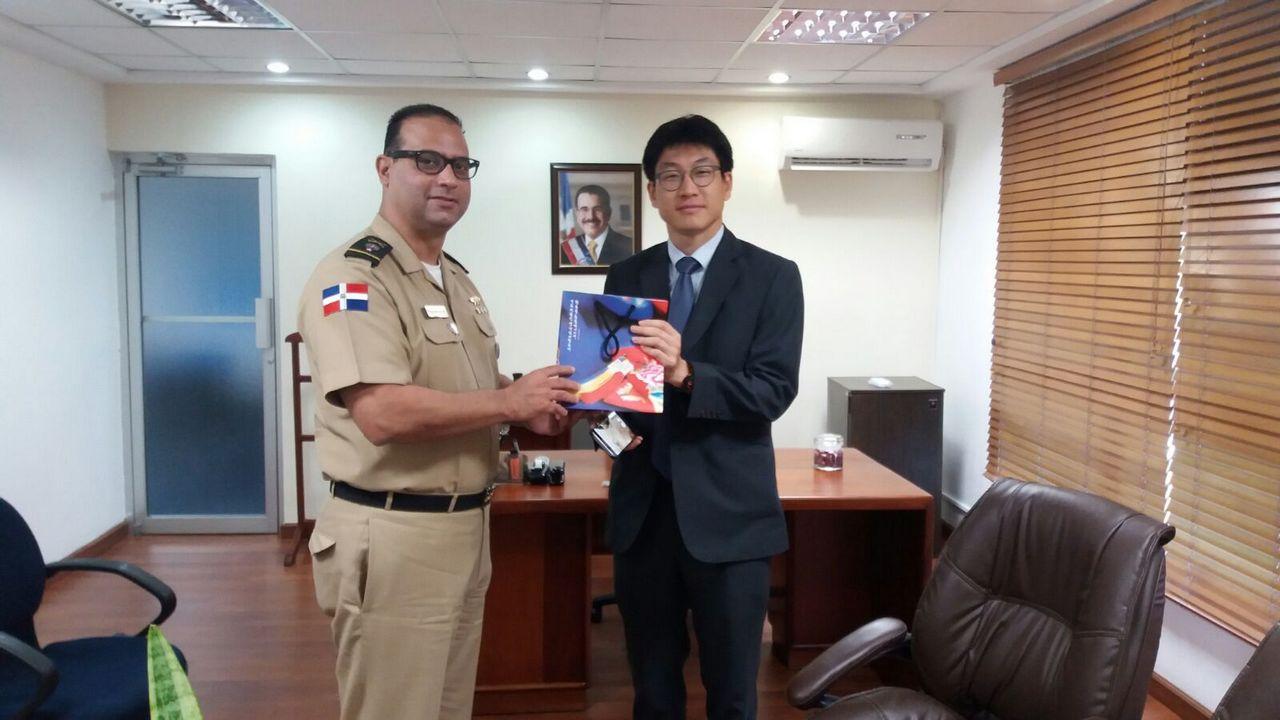Visita del Honorable SEOKHWAN YANG, Consejero de la República de Corea del Sur en República Dominicana