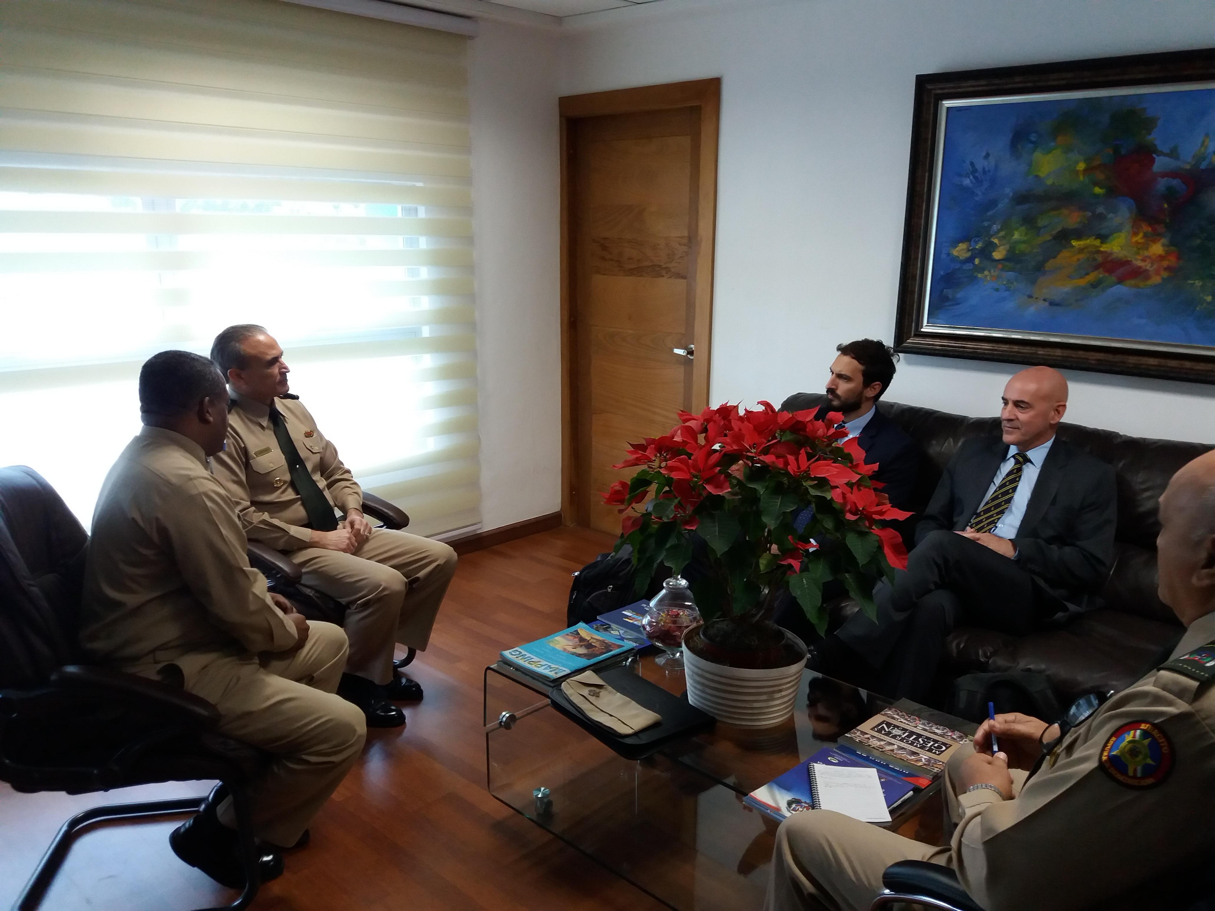 El ICM recibe la visita de representantes de la Organizción Hidrográfica Internacional (OHI)