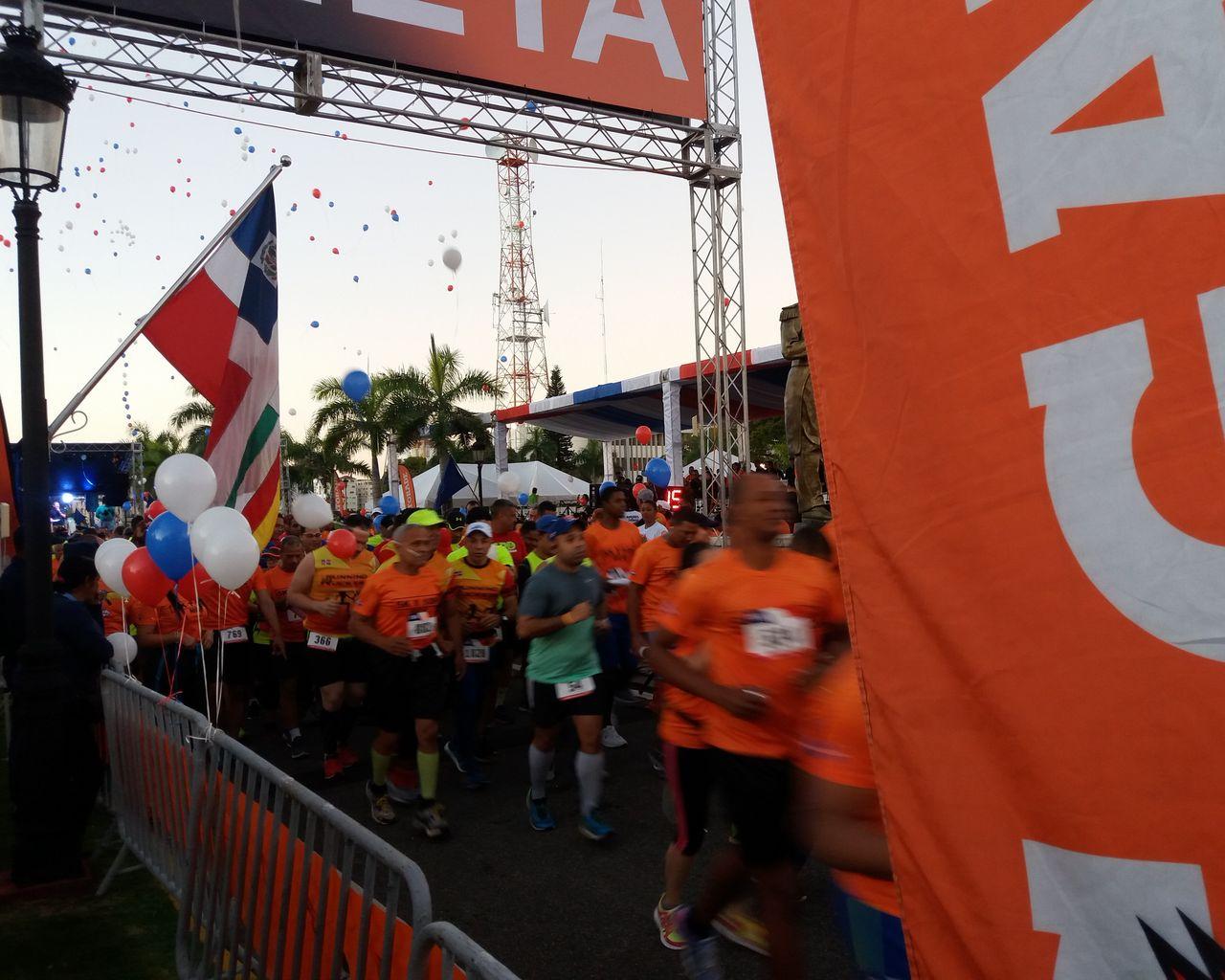Participación del Director General de Instituto Cartográfico Militar, en la Maratón 5K y 10K del Ministerio de Defensa