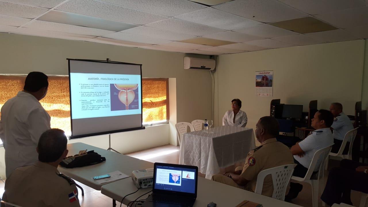 ICM imparte charla sobre cáncer de próstata: Factores de Riesgo y Prevención