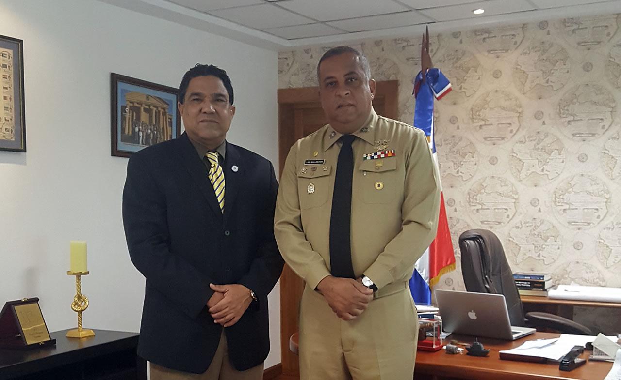 Director del ICM recibe en su Despacho al Director de Frontera y Limites