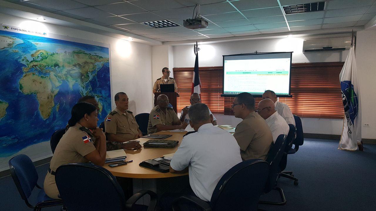 Instituto Cartográfico Militar imparte charla sobre Normas de Control Interno (NOBACI)