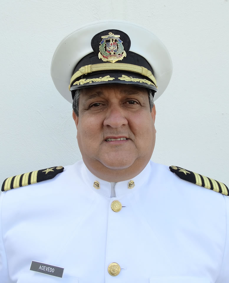 Capitán de Navío William R. Acevedo Martínez, A.R.D.