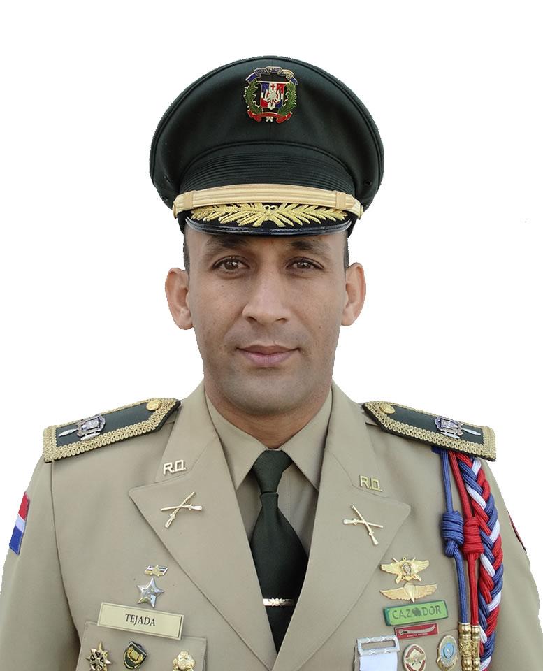Coronel George Omar Tejada Pimentel, E.R.D., (DEM)