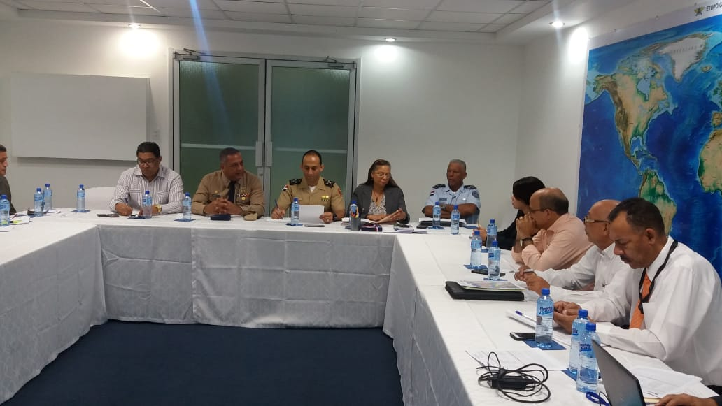 Director General del ICM reunido con la Comisión de Límites Geográficos