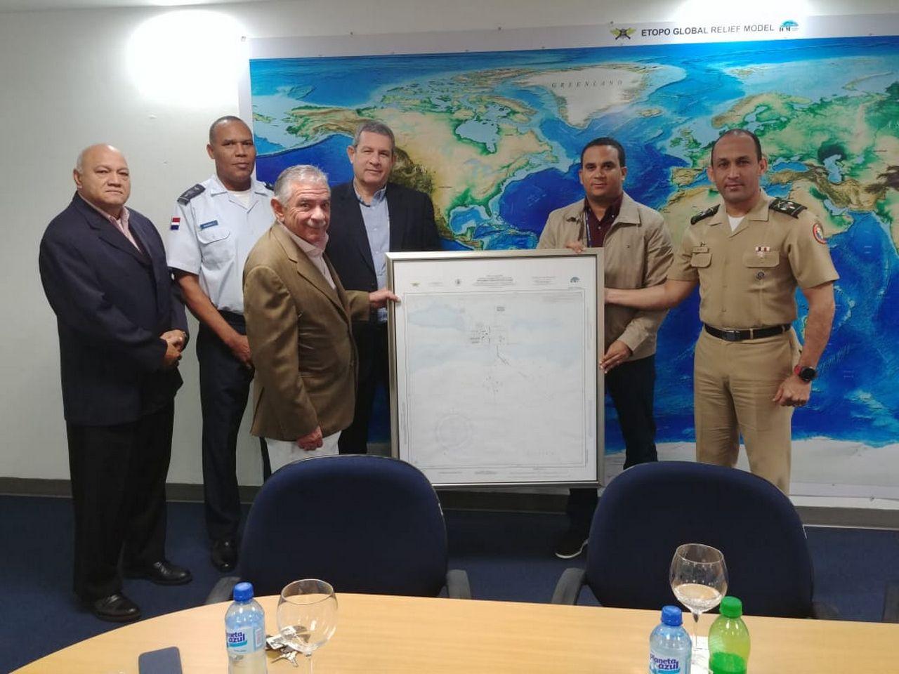 ICM entrega carta náutica Puerto La Cana SPM
